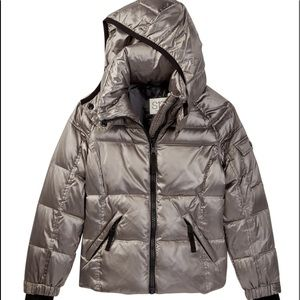 NEW! SI3 DOWN PUFFER HOODED GIRLS JACKET  6 years